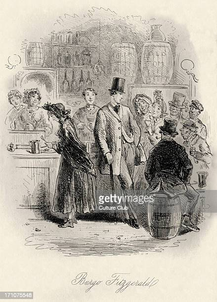 'Can you forgive her' 'Can you forgive her' by Anthony Trollope First published in 1864 and 1865 Caption reads 'Burgo Fitzgerald' in London AT...