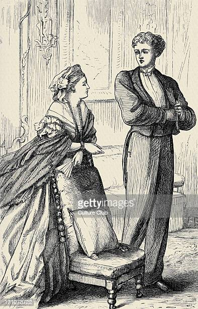 'Can you forgive her' 'Can you forgive her' Vol II by Anthony Trollope First published in 1864 and 1865 Caption reads 'All right' said Burgo as he...