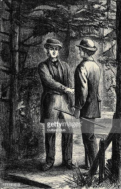 'Can you forgive her' 'Can you forgive her' Vol II by Anthony Trollope First published in 1864 and 1865 Caption reads 'Good night Mr Palliser' AT...