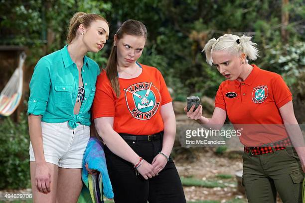 """Can You Hear Me Now""""- When Zuri secretly keeps her cell phone beyond the allotted amount of time, it prompts Hazel and Lou to conduct a camp-wide..."""