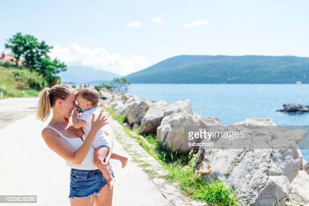 can you say 'mama'? - mothers day beach stock pictures, royalty-free photos & images