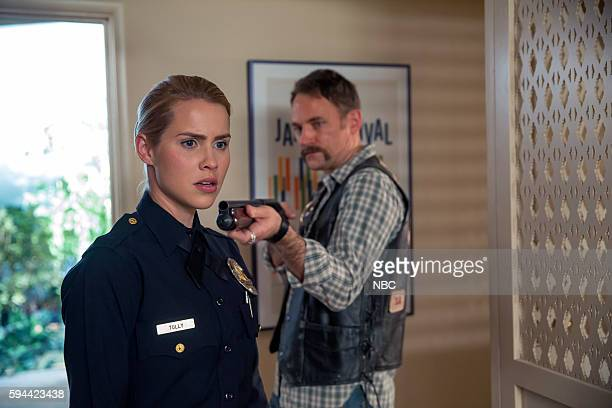 AQUARIUS Can You Take Me Back Episode 211 Pictured Claire Holt as Charmain Tully David Meunier as Roy Kovic