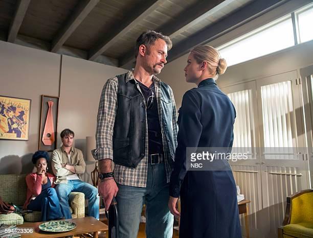 AQUARIUS 'Can You Take Me Back' Episode 211 Pictured Milauna Jackson as Kristin Shafe Grey Damon as Brian Shafe David Meunier as Roy Kovic Claire...
