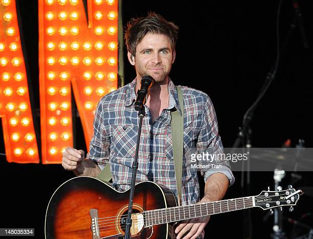 Canaan Smith performs onstage at The Greek Theatre on May 22 2012 in Los Angeles California
