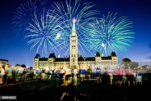 canadá, 150 - edifício do parlamento - fotografias e filmes do acervo