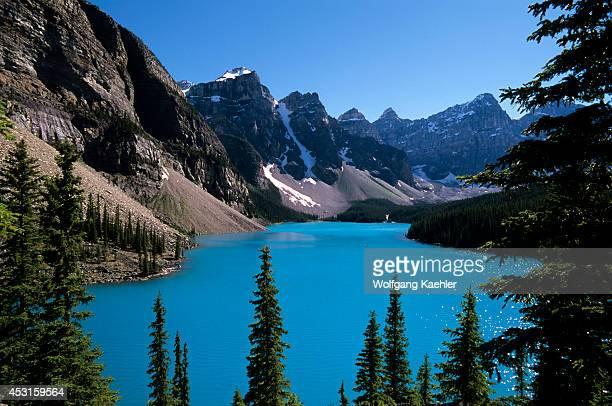 Canada Alberta Banff National Park Moraine Lake