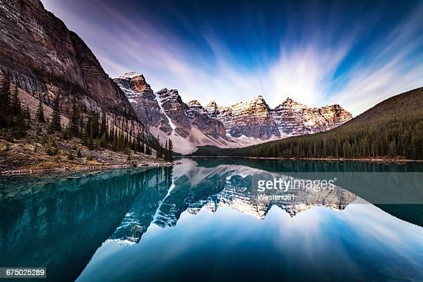 Canada, Alberta, Banff National Park, Moraine Lake