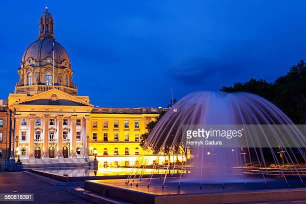 Canada, Alberta, Edmonton, Alberta Legislative Building
