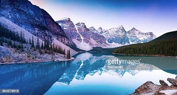 Canada, Alberta, Glacial, Moraine Lake, Banff National Park