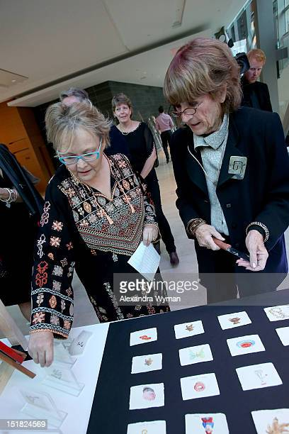 Canada Board member Jacquie Green and guest at the FINCA Canada Fundraiser At TIFF 2012 during the Toronto International Film Festival on September...