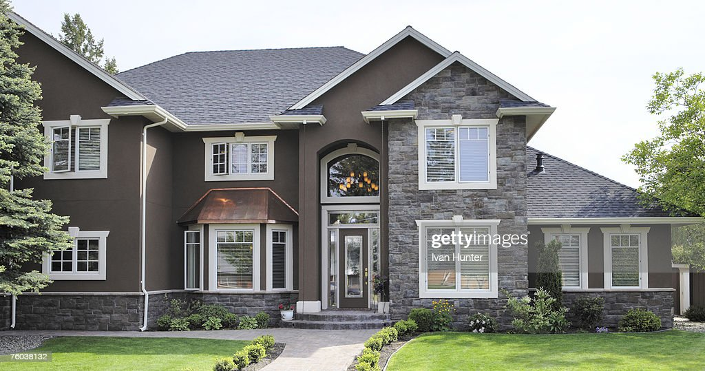 Canada, British Columbia, Kelowna, House exterior : Stock Photo