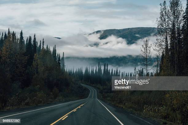 canada, british columbia, kitimat-stikine a, highway 37 - british columbia stock pictures, royalty-free photos & images