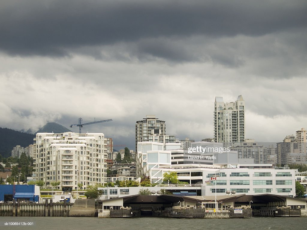 Canada, British Columbia, port of North Vancouver : Foto stock