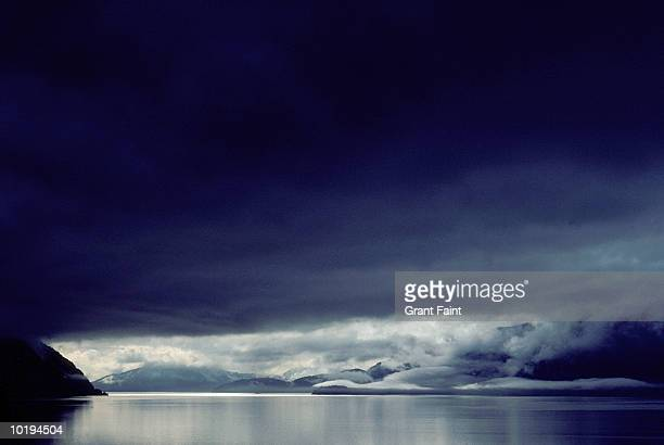 canada, british columbia, rain storm - calm before the storm stock pictures, royalty-free photos & images