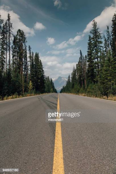 canada, british columbia, trans-canada highway, columbia-shuswap a - two lane highway stock pictures, royalty-free photos & images