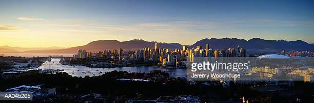 Canada, British Columbia, Vancouver, dusk