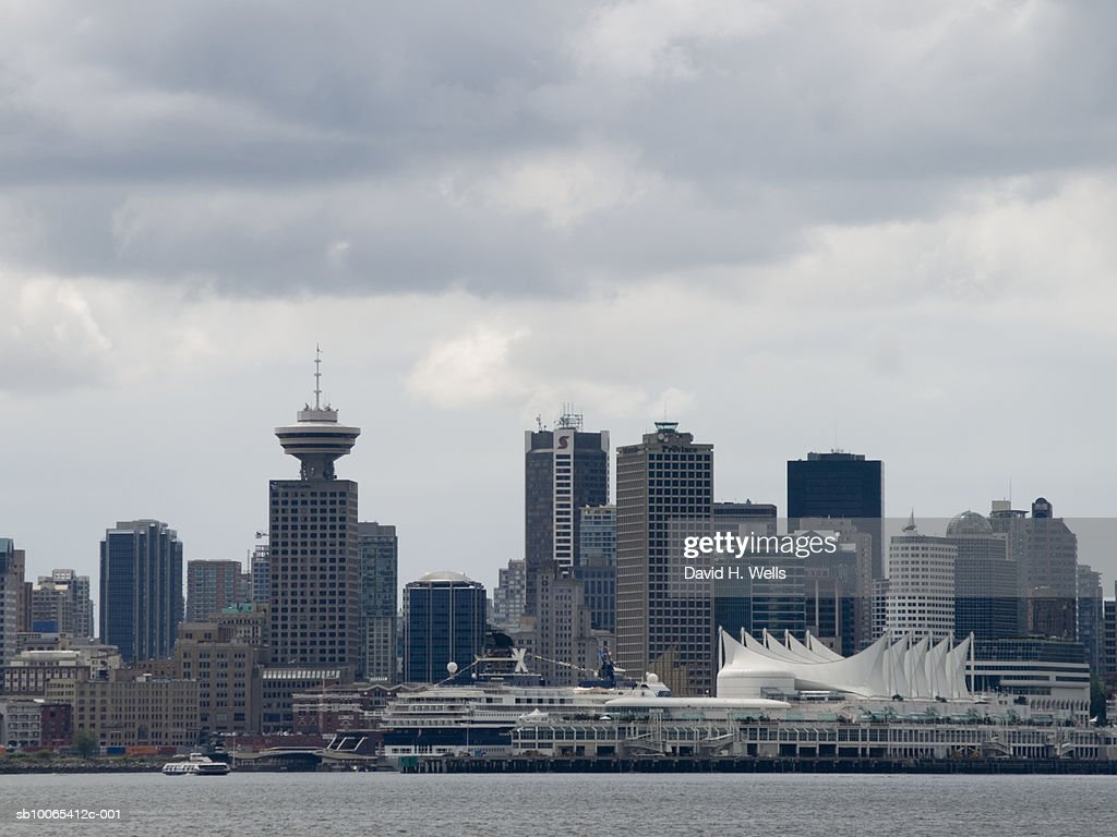 Canada, British Columbia, Vancouver skyline : Foto stock