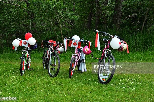Canada Day Bicycles