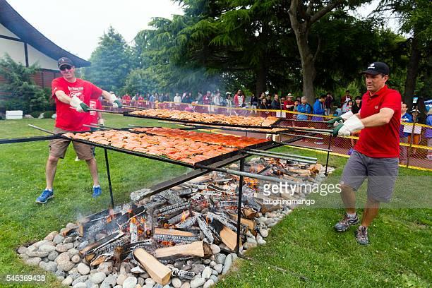 Día de Canadá Steveston salmón Festival