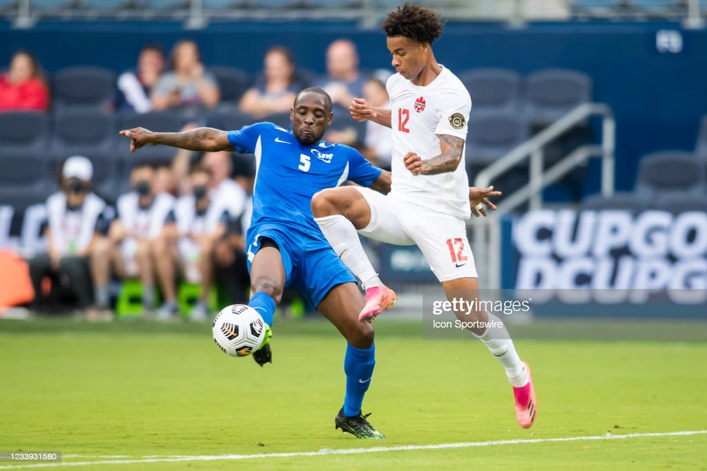 SOCCER: JUL 11 Concacaf Gold Cup - Canada v Martinique : News Photo