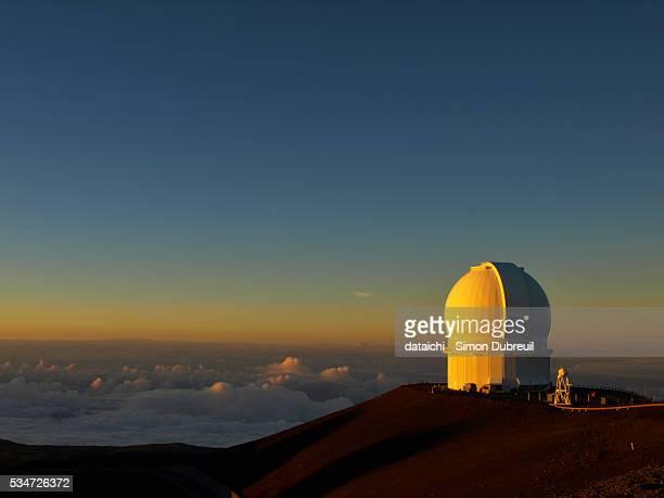 Canada - France - Hawaii telescope- Hawaii Mauna Kea Observatory