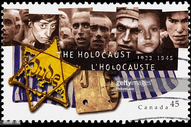 canada holocaust memorial postage stamp - holocaust stock pictures, royalty-free photos & images