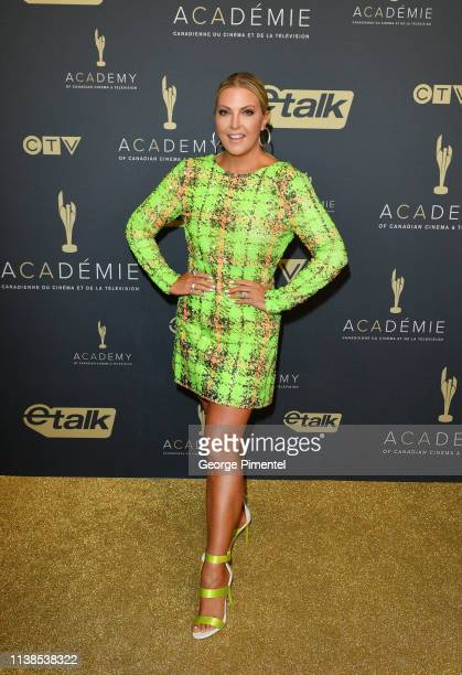 Canada host Cheryl Hickey attends Canadian Screen Awards The CTV Gala Honouring Excellence In NonFiction Programming held at Heritage Court...
