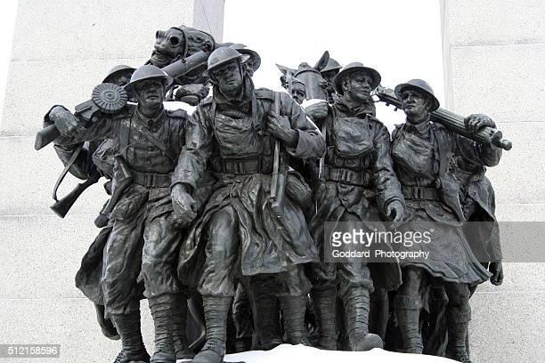 カナダ:国立戦争記念館にオタワ - 戦争記念碑 ストックフォトと画像