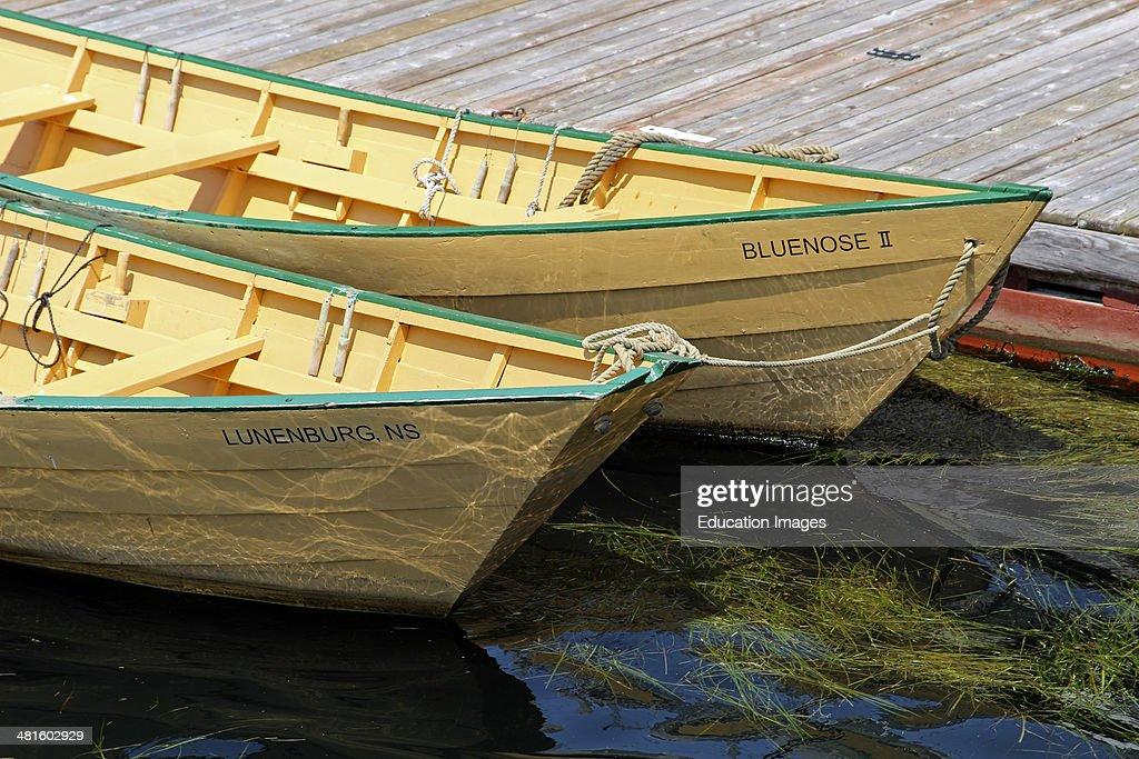 Canada Nova Scotia Eastern Shore Atlantic Coast Lunenburg Maritime