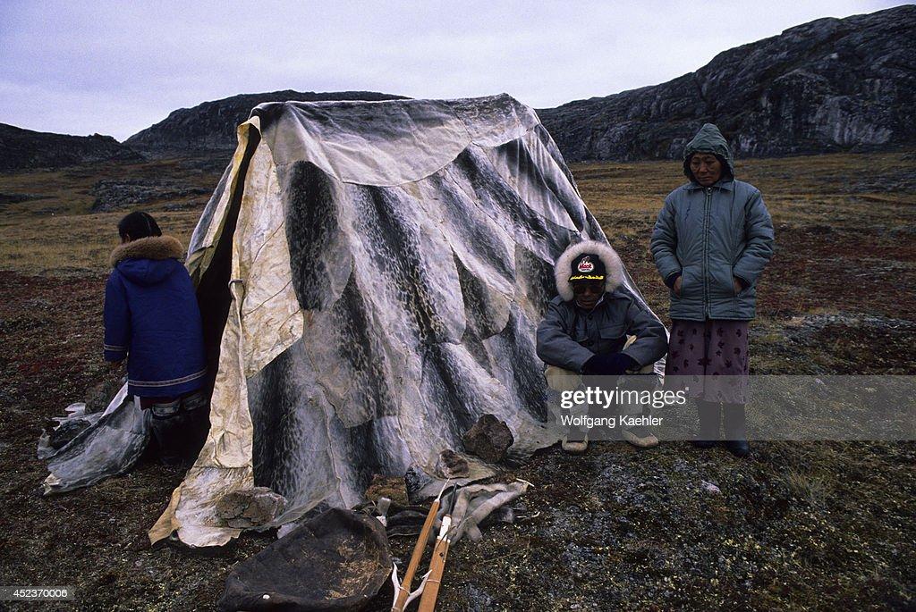 Canada Nunavut Hudson Bay Baffin Islandcape Dorset Inuit Summer Hunting & Canada Nunavut Hudson Bay Baffin Islandcape Dorset ...