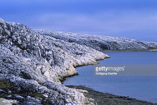 Canada Nunavut Hudson Bay Marble Island Landscape