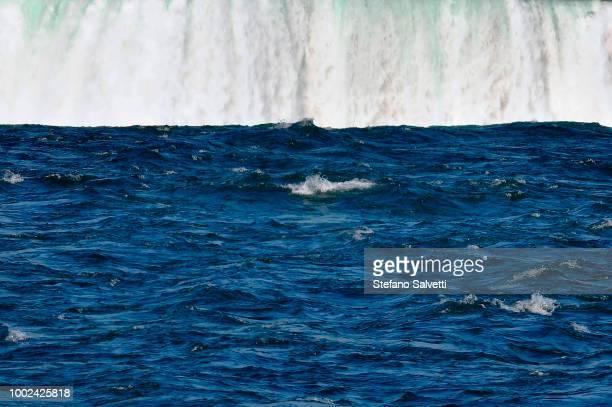 Canada, Ontario, detail niagara falls