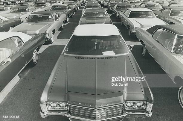 Canada Ontario Oshawa General Motors Assembly Line and Autos