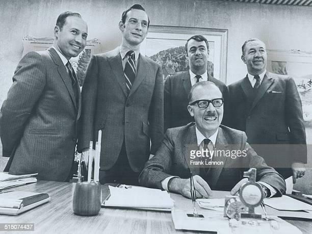 Canada - Ontario - Toronto - City Hall - Council - Metro - 1960 -70