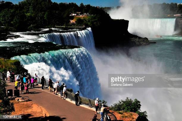 Canada, Ontario, view niagara falls