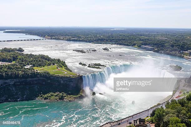 Canada, Ontario, View of Niagara Falls