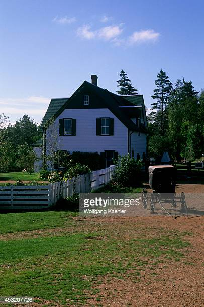 Canada Prince Edward Island Cavendish Green Gables National Park House