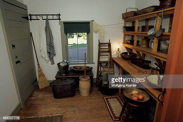 Canada Prince Edward Island Cavendish Green Gables National Park House Kitchen