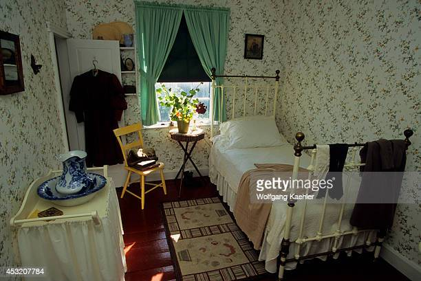 Canada Prince Edward Island Cavendish Green Gables National Park House Bedroom