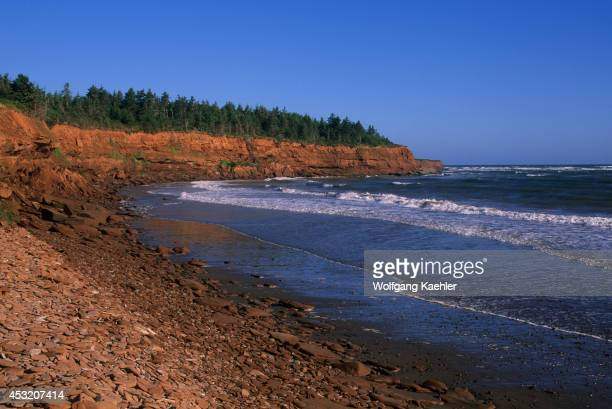 Canada Prince Edward Island National Park Beach Cliff