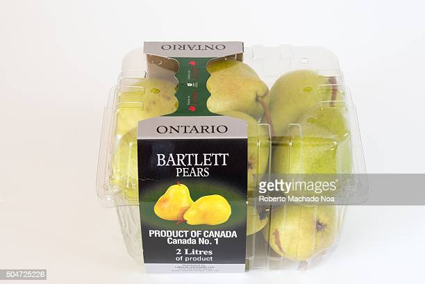 Canada Product Bartlett Pears product of Ontario Barlett pears are the most commonly grown variety of pear in most countries outside Asia