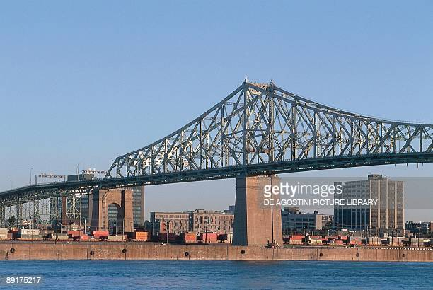 Canada Quebec Montreal Jacques Cartier Bridge