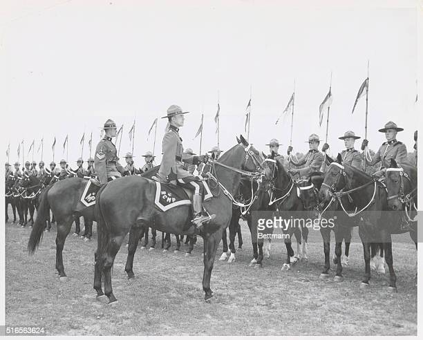 Royal Canadian Mounted Police Musical Ride Inspection by the Officer in Charge and the Riding Master