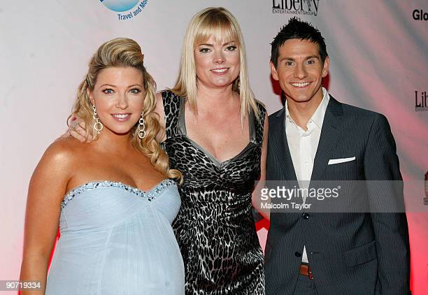 ET Canada TV personality Cheryl Hickey ET Canada producer Tamara Simoneau and TV personality Rick Campanelli attend the Chloe screening after party...