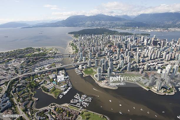 Canada, Vancouver, Aerial view