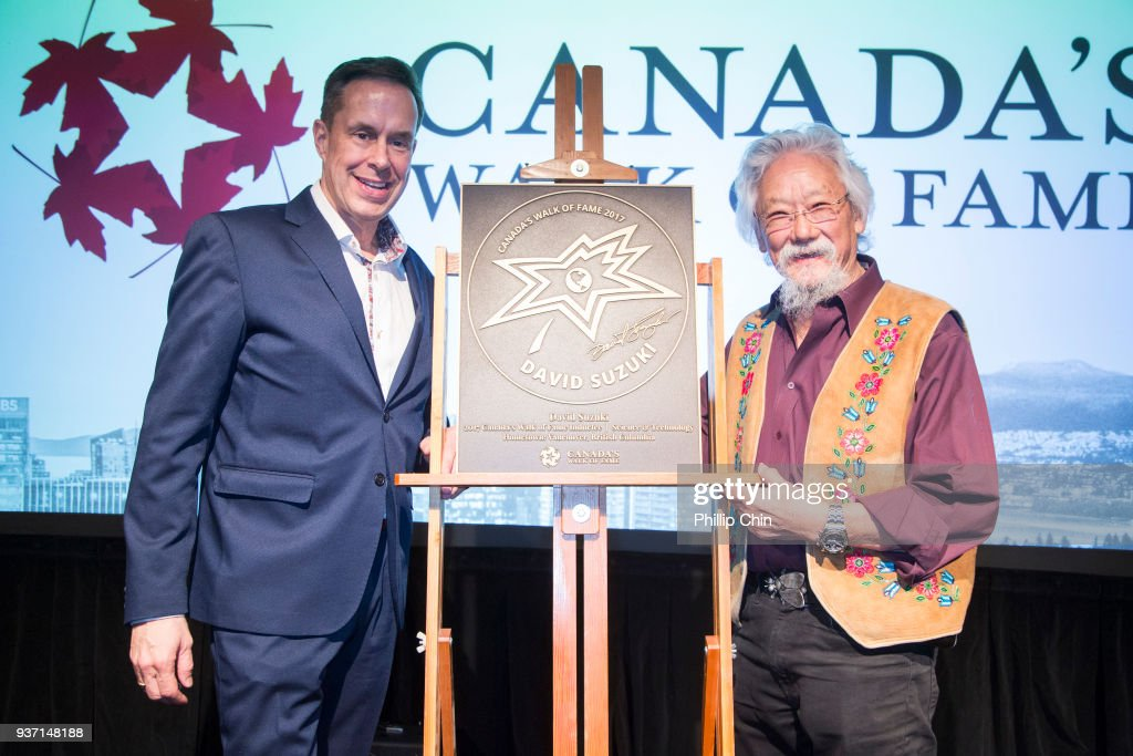 Dr. David Suzuki Receives Canada Walk Of Fame Award At Hometown Stars Ceremony