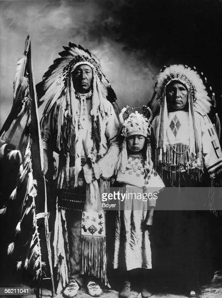 Canada White Head Iroquois Chief Of The Tribe Of The