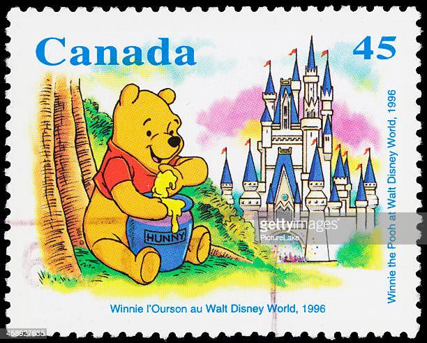 Canada Winnie the Pooh (1996) postage stamp