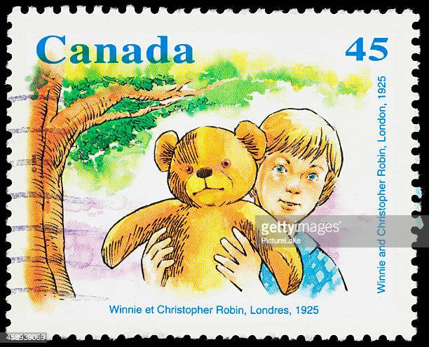 Canada Winnie the Pooh (1925) postage stamp