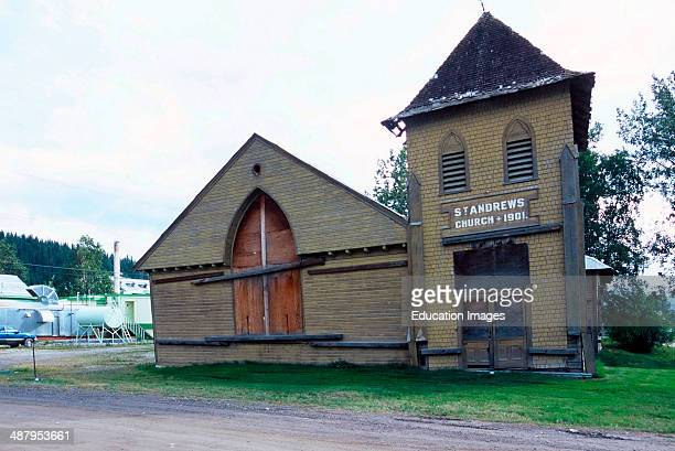 Canada Yukon Territory Dawson City St Andrew's Presbyterian Church